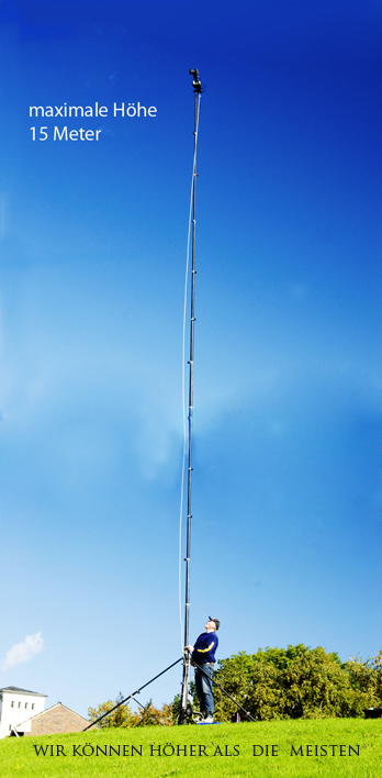 Mast bis 15 Meter Höhe